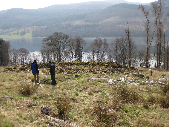 The ring-forts of Strathtummel