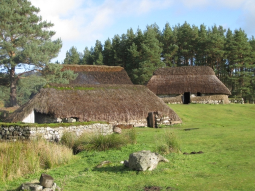 Highland crofts at Newtonmore
