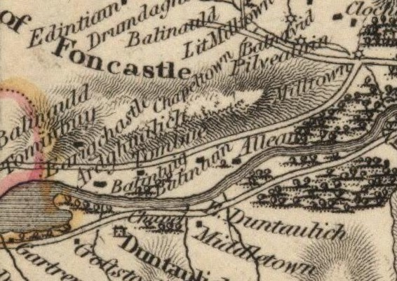John Thomson's map of Borenich